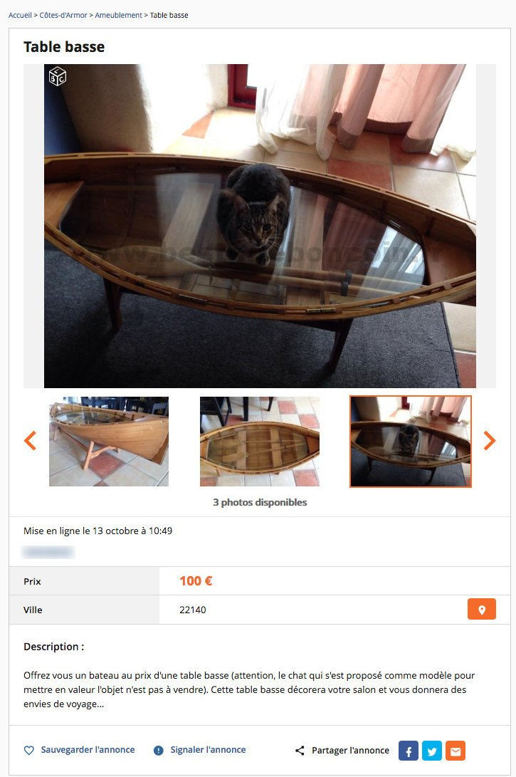 table basse ameublement bretagne best of le bon coin. Black Bedroom Furniture Sets. Home Design Ideas