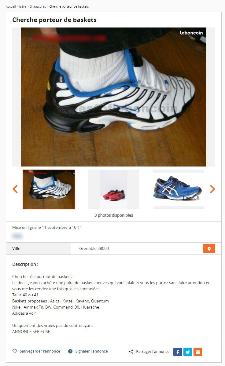 code promo 02396 cb70b Réduction authentique basket nike le bon coin Baskets ...