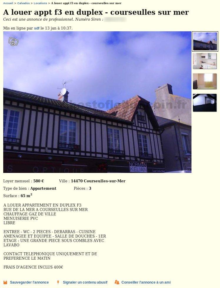 F3 Vendus Par Sdf Locations Basse Normandie Best Of Le