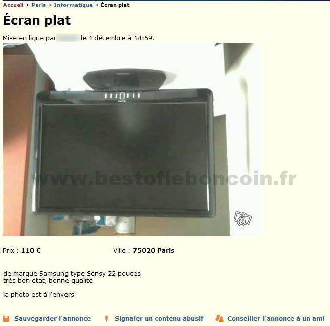 Ecran plat informatique le de france best of le bon for Le bon coin television ecran plat