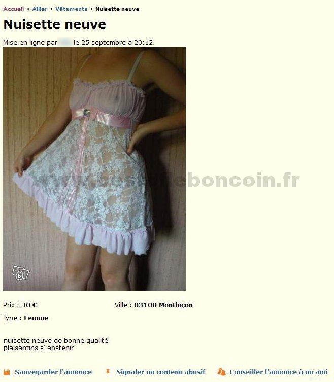 Nuisette neuve v tements auvergne best of le bon coin - Le bon coin immobilier allier ...