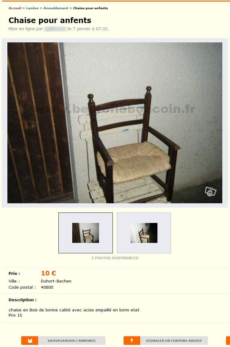 Chaise Pour Anfents Ameublement Aquitaine Best Of Le