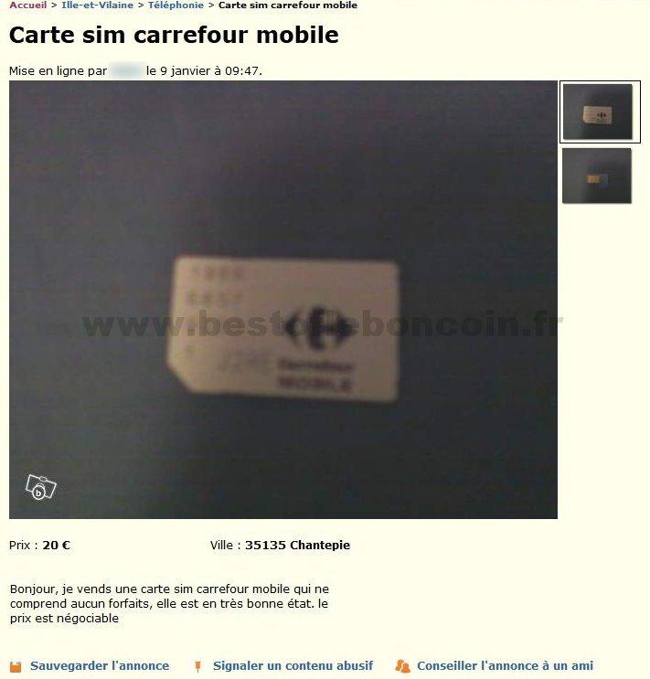 Carte Gsm Carrefour.Carte Sim Carrefour Telephonie Bretagne Best Of Le Bon