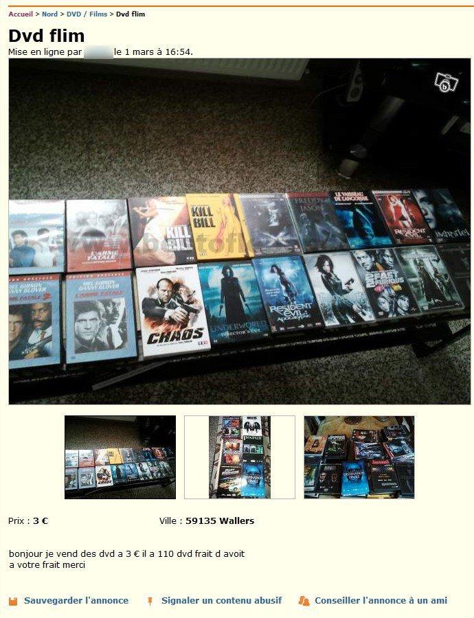 dvd flim dvd films nord pas de calais best of le bon coin. Black Bedroom Furniture Sets. Home Design Ideas