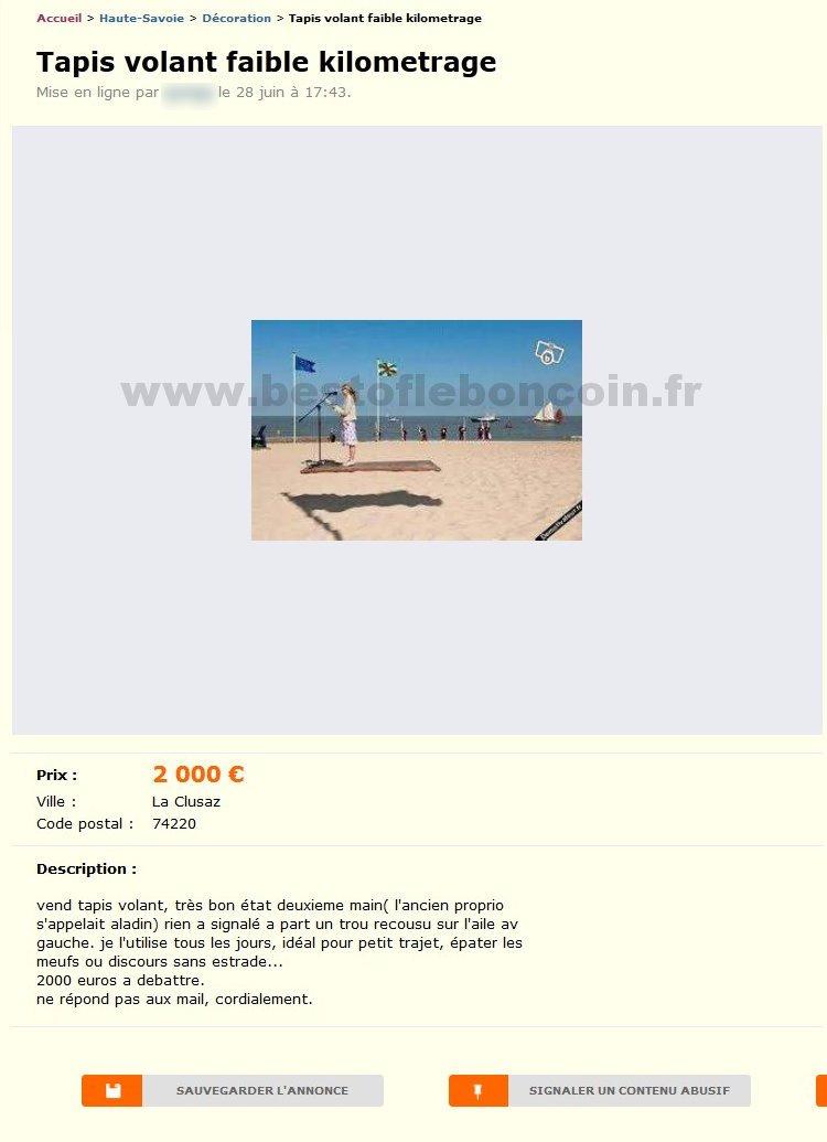 tapis volant faible kilometrage d coration rh ne alpes best of le bon coin. Black Bedroom Furniture Sets. Home Design Ideas