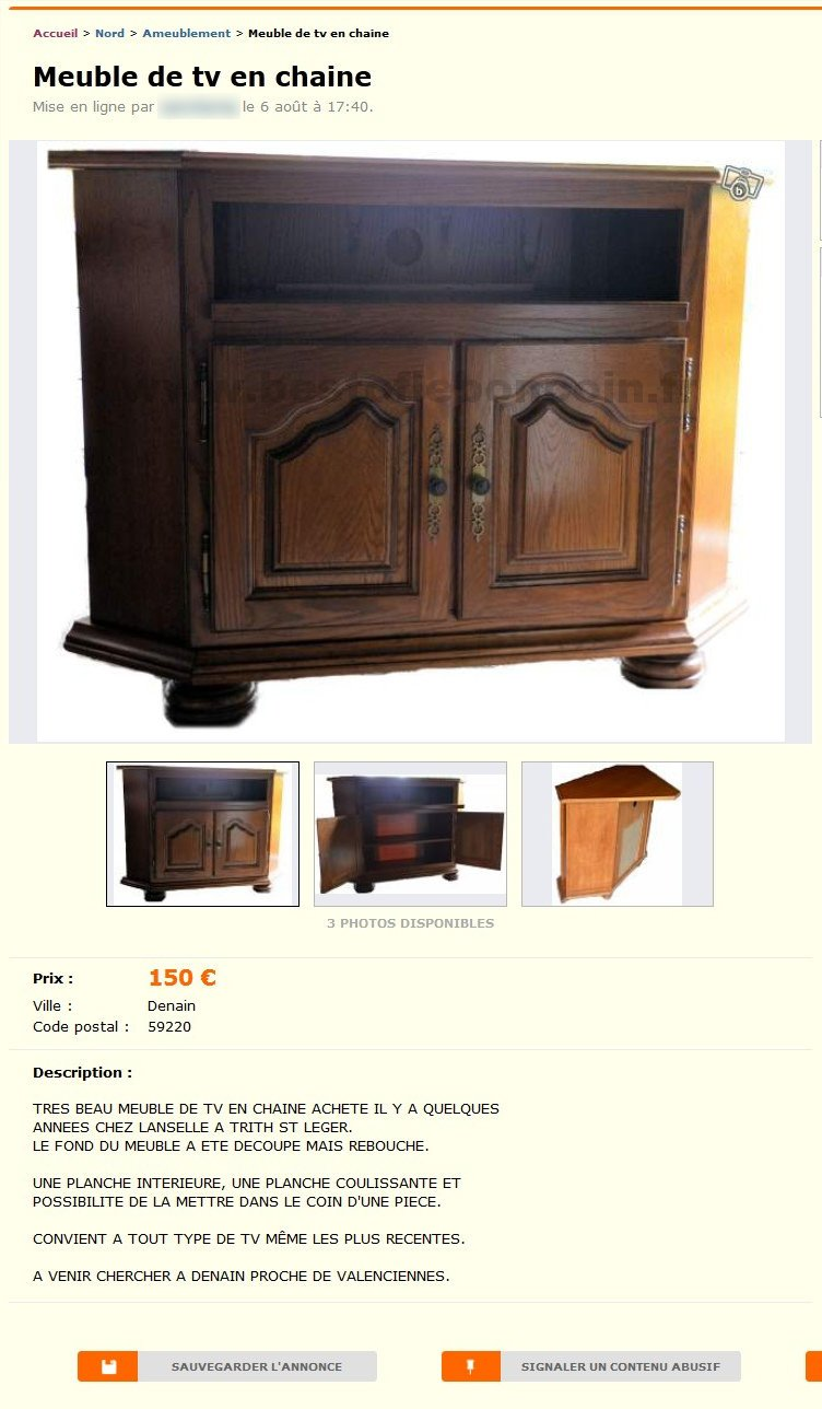 meuble de tv en chaine ameublement nord pas de calais best of le bon coin. Black Bedroom Furniture Sets. Home Design Ideas