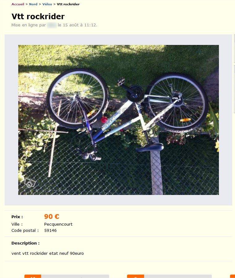 Vtt Rockrider Vélos Nord Pas De Calais Best Of Le Bon Coin
