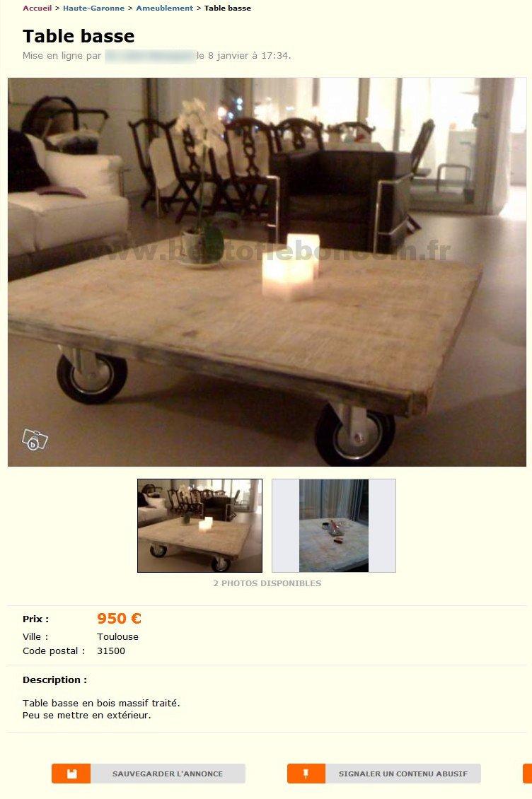 table basse ameublement midi pyr n es best of le bon. Black Bedroom Furniture Sets. Home Design Ideas