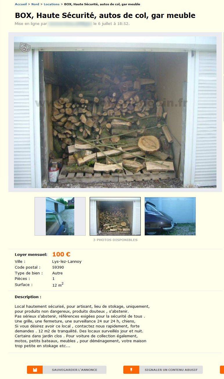 Box Haute Sécurité Locations Nord Pas De Calais Best