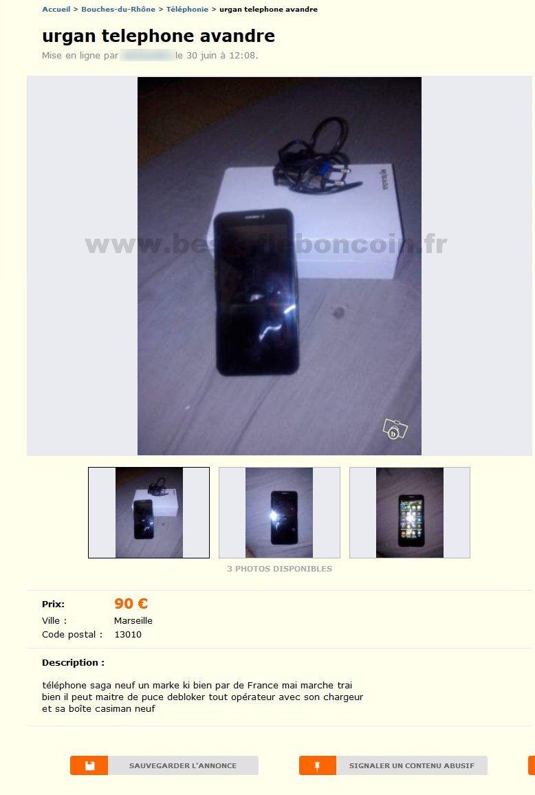 urgan telephone avandre t l phonie provence alpes c te d 39 azur best of le bon coin. Black Bedroom Furniture Sets. Home Design Ideas