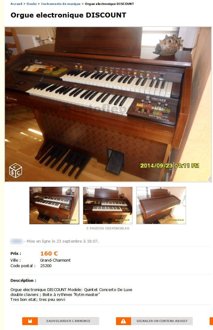 Orgue Electronique Discount