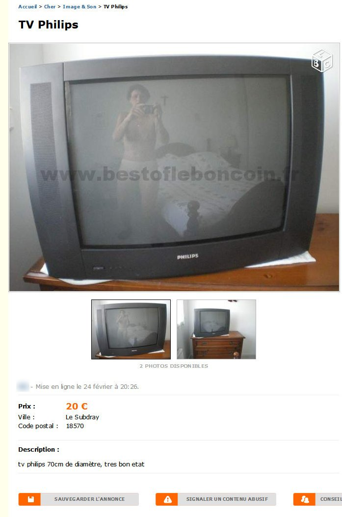 Tv philips image son centre best of le bon coin for Le bon coin television ecran plat