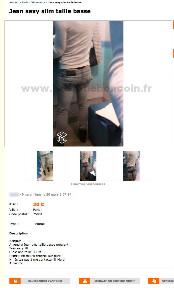 Jean Sexy Slim Taille Basse