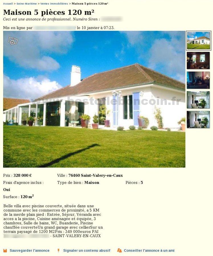 Leboncoin ventes immobilieres - Leboncoin fr immobilier auvergne ...