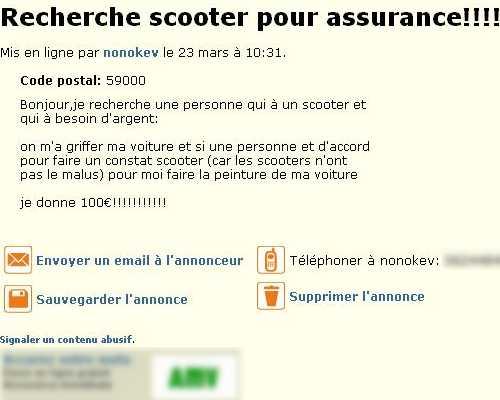 Automobiliste fauche image - Fausse declaration assurance pret immobilier ...